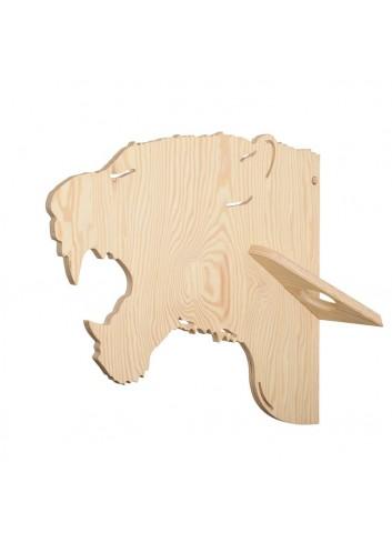 Porte-manteaux - Tigre- LARCH- fabrication belge - déco jungle chambre enfant