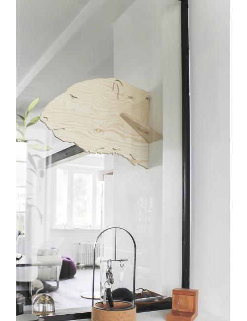 Porte-manteaux - Ours brun- LARCH - fabrication belge