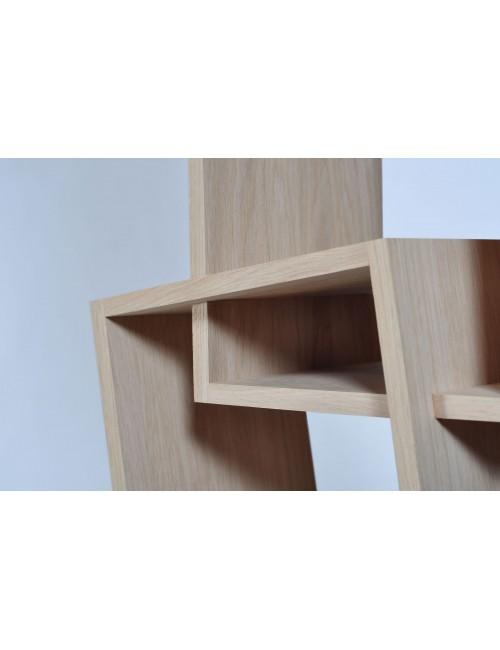 Kao simple etagère bibliothèque en chêne massif made in France