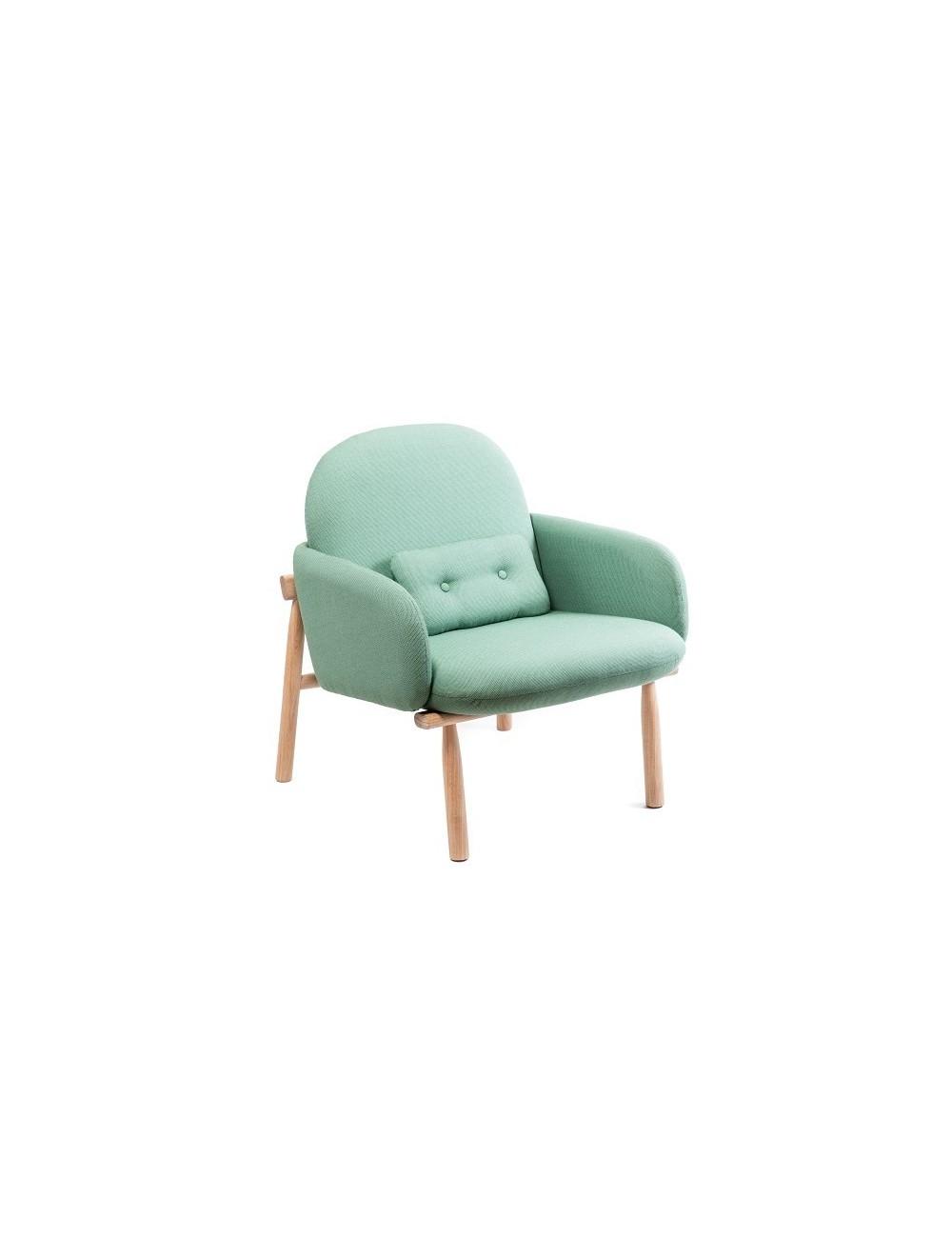fauteuil georges vert. Black Bedroom Furniture Sets. Home Design Ideas