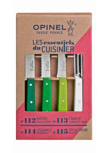 Les essentiels- Primarosacouteaux fabriqués en France de la marque Opinel