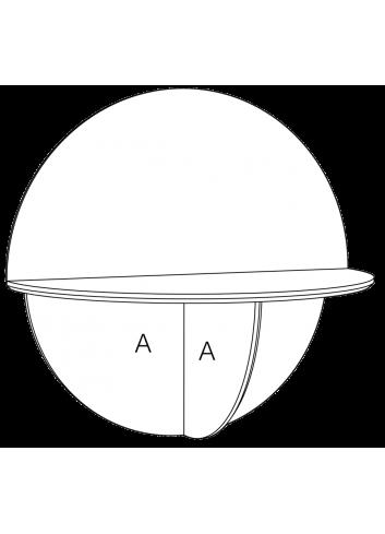 Saturne chêne massif made in France