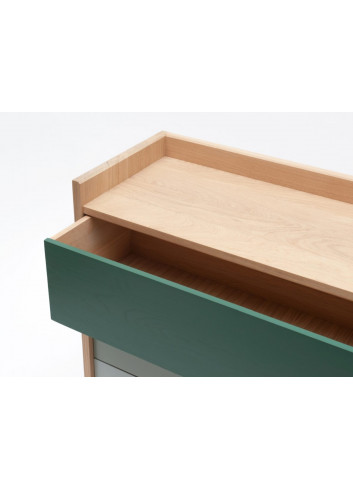 Commode Bric personnalisable en chêne massif Drugeot - Made in France