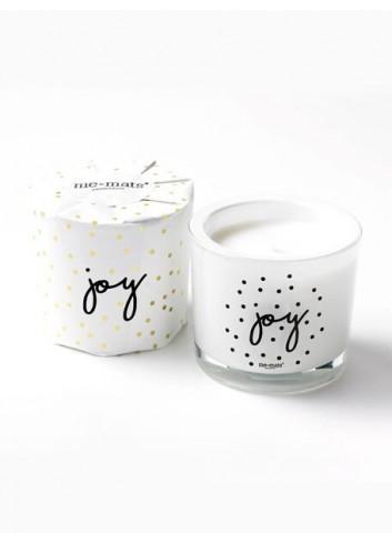 Bougie parfumée sparkle 'Joy'