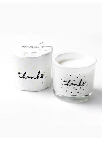 Bougie parfumée sparkle 'Thanks'