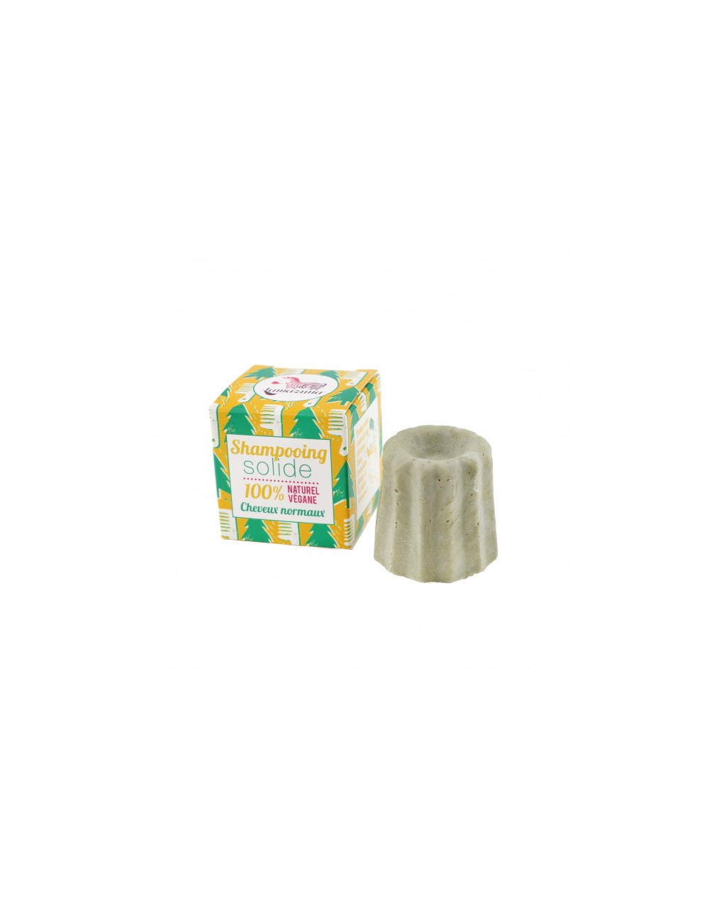 shampoing solide pin sylvestre cheveux normaux