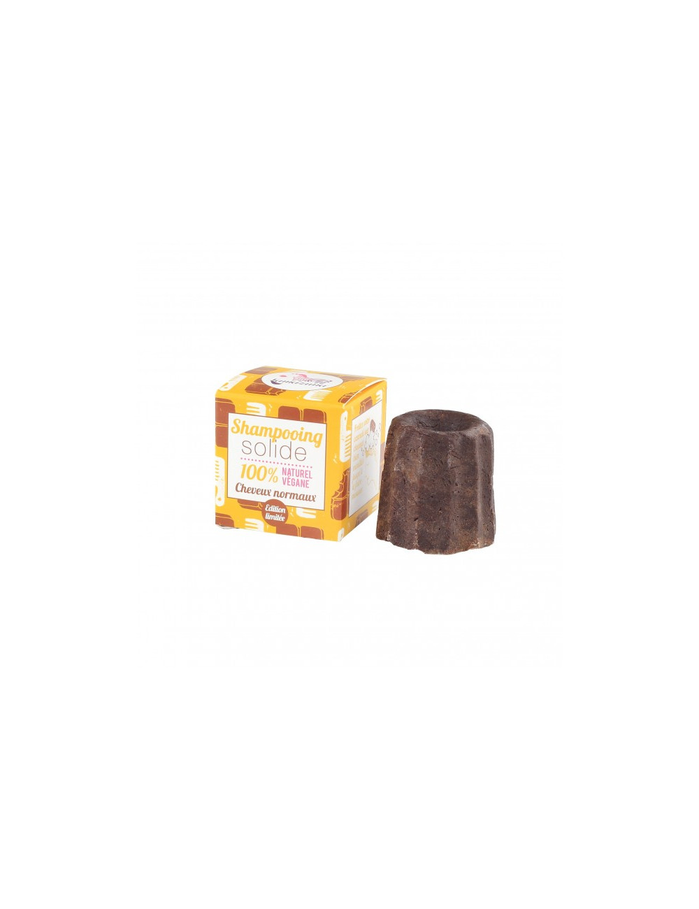 shampoing solide chocolat cheveux normaux