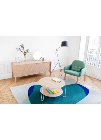Eugénie Table basse 70 cm harto fabrication portugaise chêne