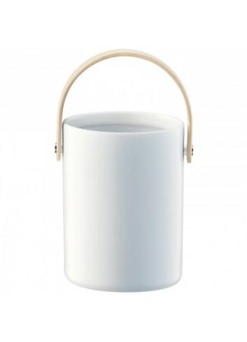 Pot en porcelaine avec poignée