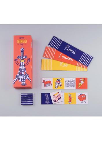 jeu de bingo illustré fabriqué en France