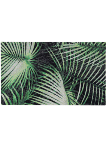 tapis de sol paillasson jungle