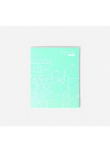 Carnet de notes et coloriage- Mineral