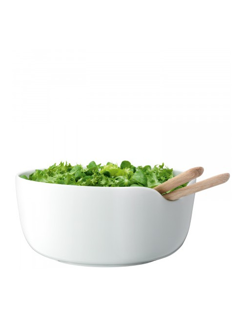 saladier et couverts à salade