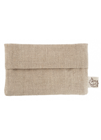 pochette à mouchoir en tissus réutilisable
