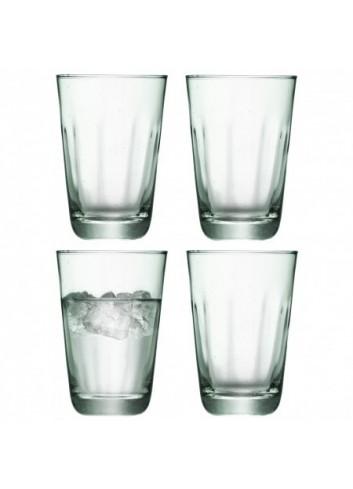Set de 4 verres à orangeade en verre recyclé