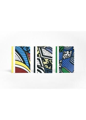 Set de trois carnets de poche- Les Patchworks