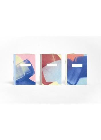 Set de trois carnets de poche- Les Palettes