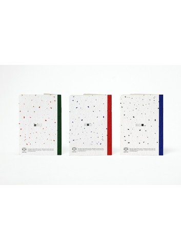 Set de trois carnets de poche- Les Basiques