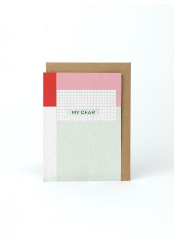 Carte A6 - My Dear
