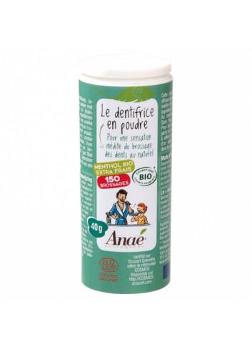 dentifrice en poudre fabriqué en France