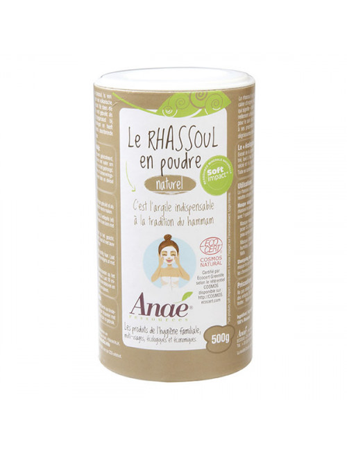 rhassoul en poudre Anaé Ecodis