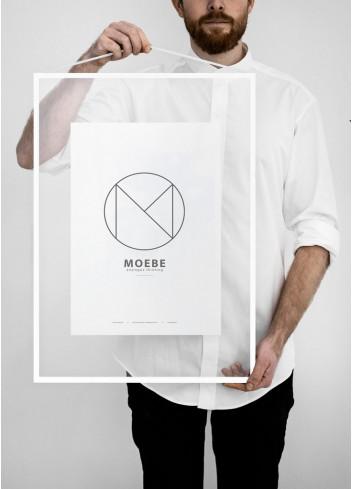 cadre a2 blanc Moebe