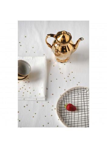 2 Serviettes de table - Milk coton La cerise sur le gateau