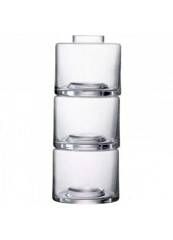 Trio de vases- transparent