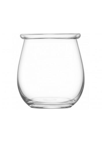 Vase / lanterne Collar en verre - 20 cm