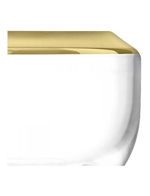 Photophore Gold en verre