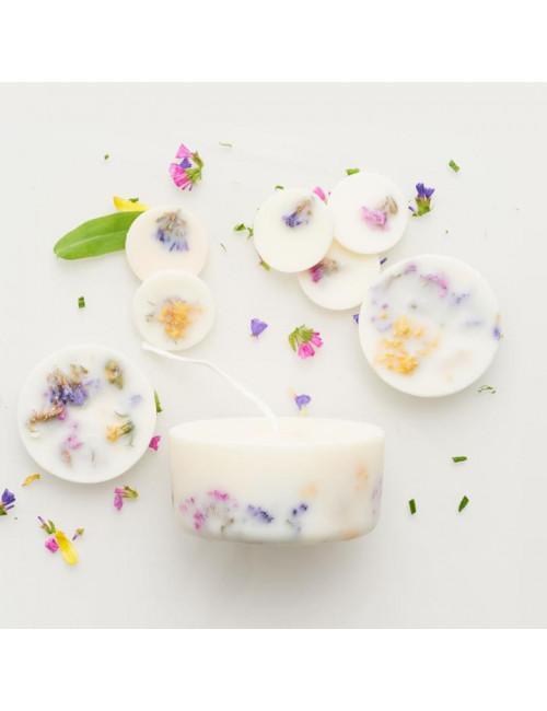 Box Wild Flower - Bougie & pastilles parfumées The Munio