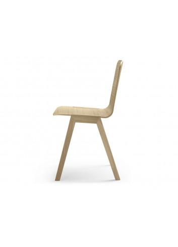 chaise Heldu chêne massif Alki