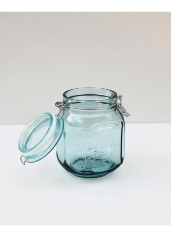 Bocal hermétique en verre recyclé - 1,1 L