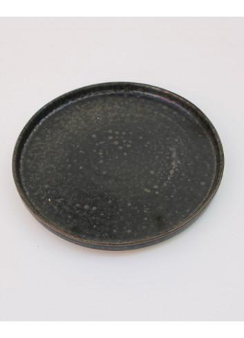 Assiette à dessert Quartz - 21 cm grès Mesapiu