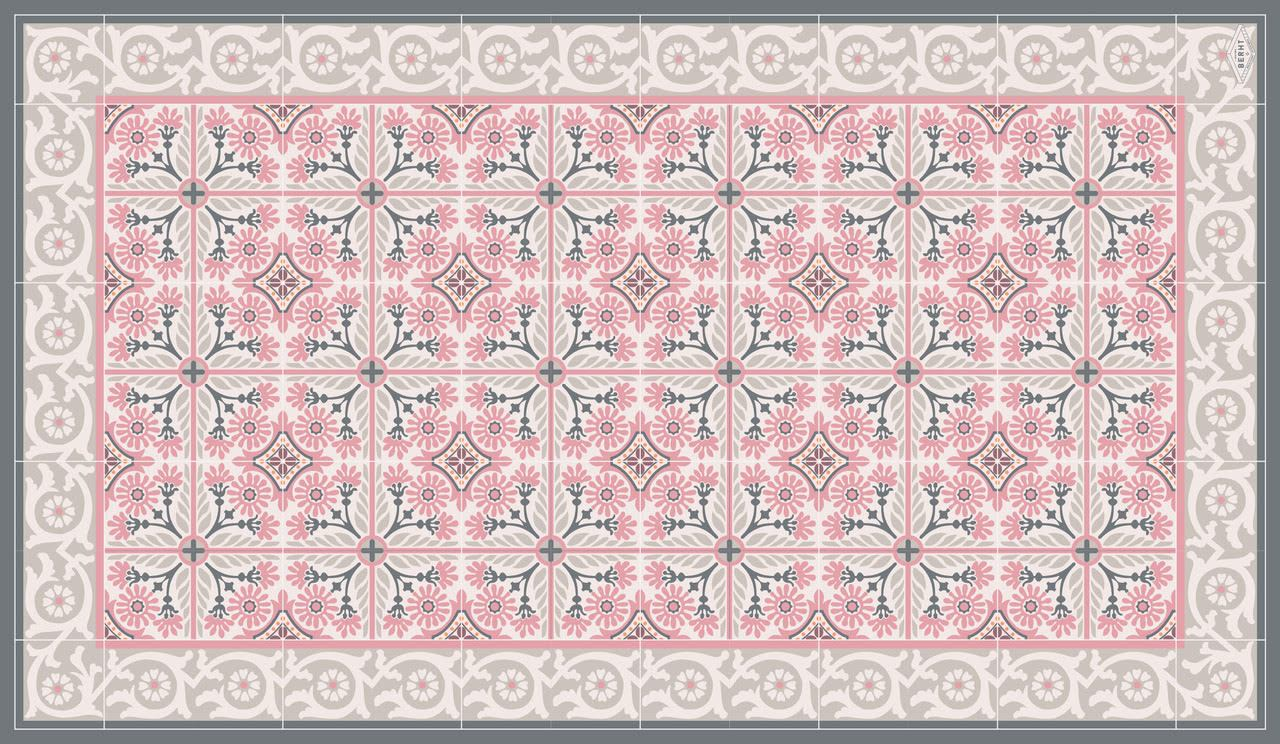 alphonse grey motifs set de table maison berht