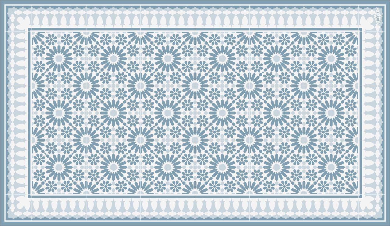 sets de table maison berht archibald bleu
