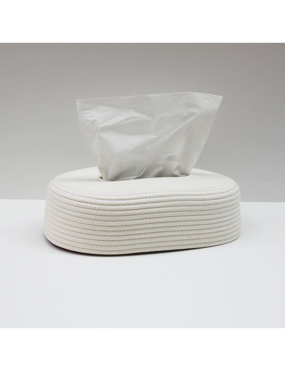 boite-a-mouchoir-en-coton-blanc